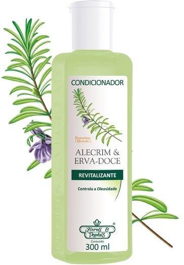 Condicionador Flores e Vegetais Alecrim e Erva Doce 300ml