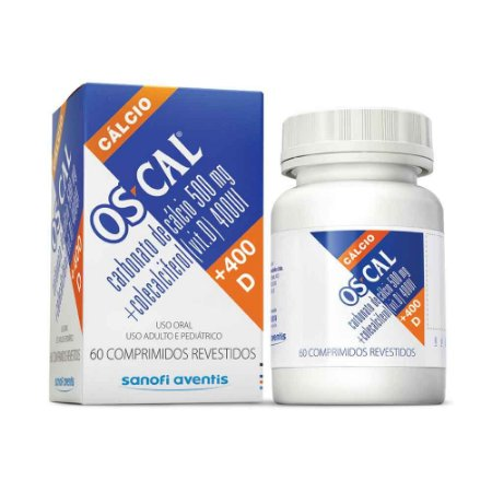 OSCAL 500MG 60CPR