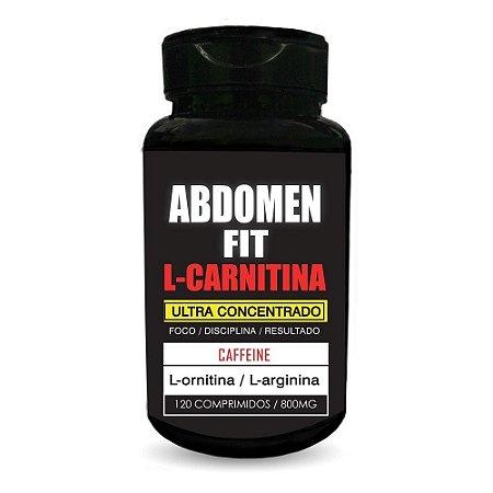 Addomen Fit  L-Carnitina - Ultra Concentrado - Cafeína 120cp