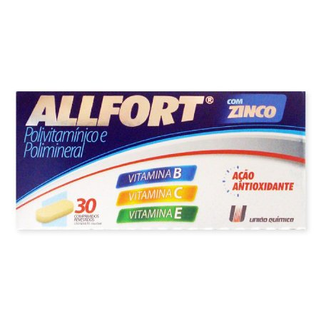 ALLFORT 30cpr - UNIAO QUIMICA
