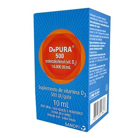 Colecalciferol - DEPURA 500 140000ui/ml 10ml SANOFI
