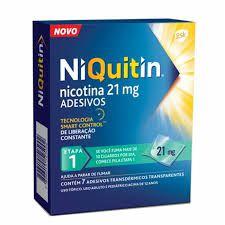 NIQUITIN  21MG 7adesivos 1 etapa