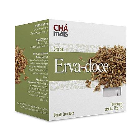 CHA ERVA DOCE 10 ENVELOPES 15G - Chamais