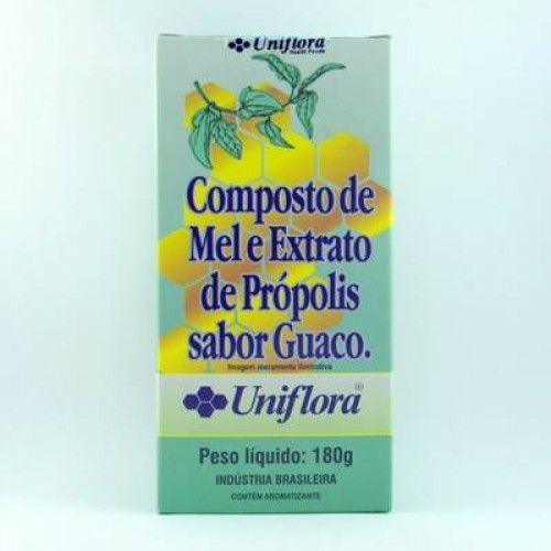 Xarope Composto Mel e Extrato Propolis sabor Guaco Uniflora