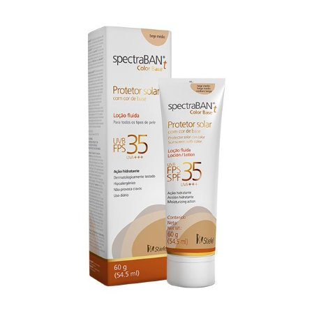 Spectraban T FPS 30 60gr Color Base Bege Medio