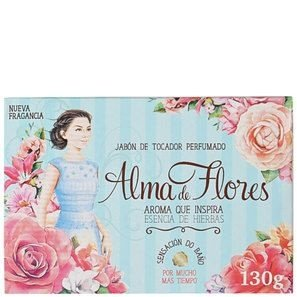 SABONETE ALMA DE FLORES ESSENCIA HERBAL 130GR