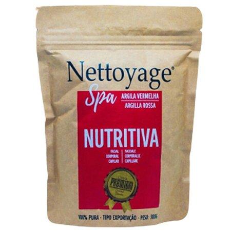 Argila Vermelha Nutritiva Nettoyage Spa 100% Pura 300g