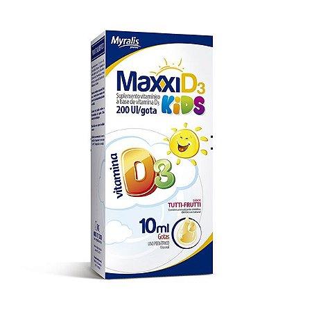 Vitamina D gotas 10ml - Maxxi D3