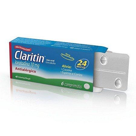 LORATADINA 6CPR - Claritin 10mg