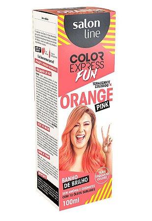 Tonalizante Salon Line Color Express Orange Pink 100ml