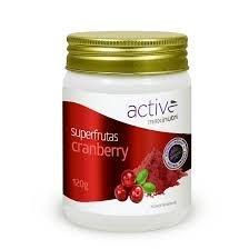 Cranberry Active Polpa de Fruta em Pó 120gr - MAXINUTRI