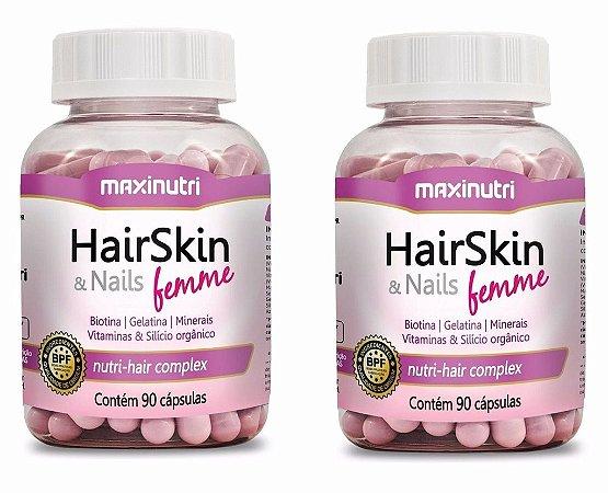 HairSkin & Nails Femme (cápsula Da Beleza) 180 cápsulas