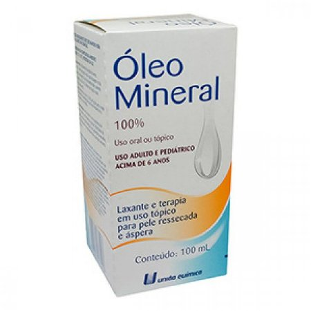 OLEO MINERAL 100ml - União Química