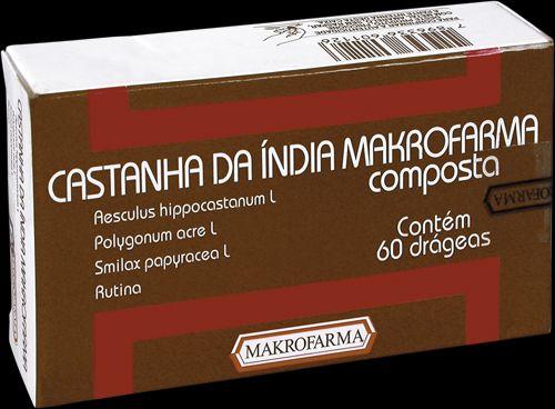 Castanha da Índia Composta 60drg - Makrofarma