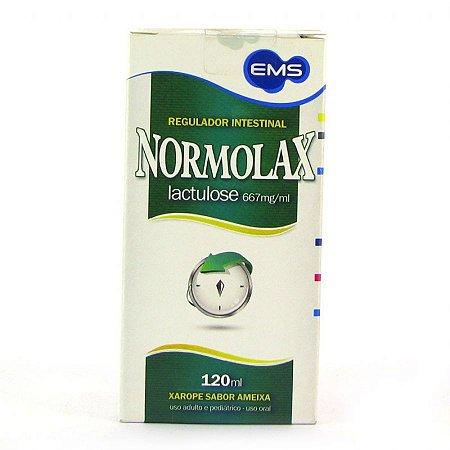 NORMOLAX XAROPE SABOR AMEIXA 120ML - EMS