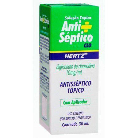 ANTISSEPTICO HERTZ 30ml com aplicador