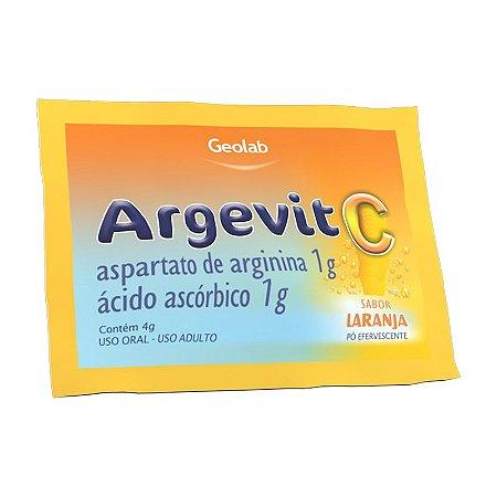 Argevit C 1g envelope sabor Laranja