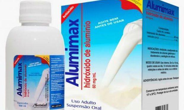 Hidroxido de Aluminio susp 15oml - Aluminax