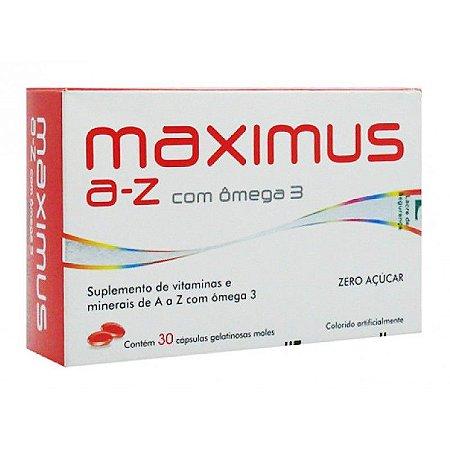 MAXIMUS A-Z  c/Omega  30 Capsulas