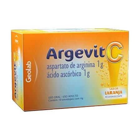 ARGEVIT C 1G CX 10 ENV 4G SB LARANJA
