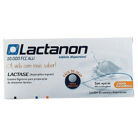 LACTASE - LACTANON com 30 TABLETES
