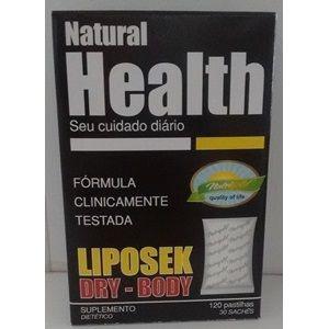 Liposek Dry Body Health 120pastilhas 20 sachês - Nutrigold