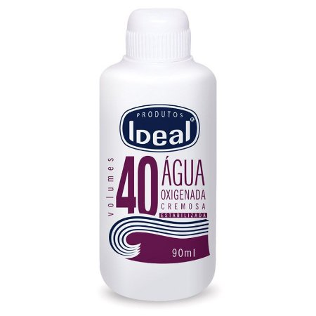 Agua Oxigenada 40  Ideal 90ml