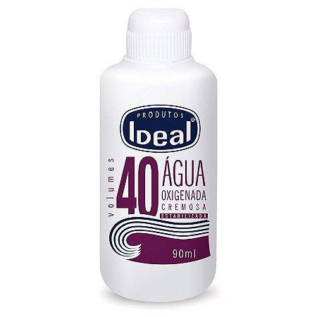 Agua Oxigenada 40  Ideal 90ml