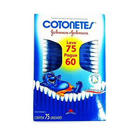 Cotonetes J&J Leve 75 Pague 60