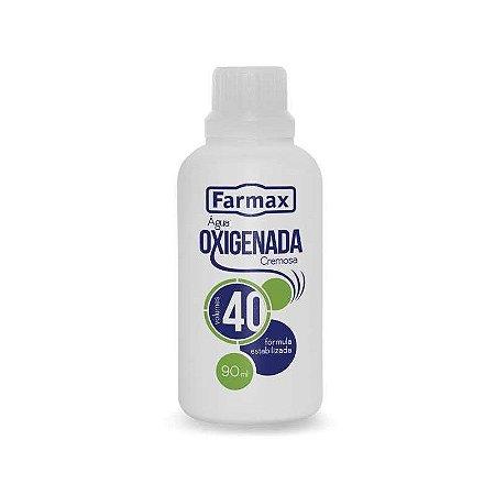 Agua Oxigenada Cremosa 40Vol FARMAX 90 ML