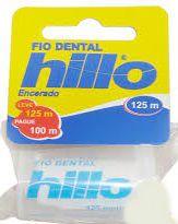 Fio Dental Hillo Encerado L125 P100mt