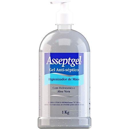 Alcool Gel Asseptgel 1Kg