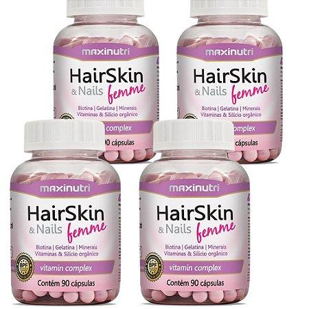HairSkin Femme (cápsula Da Beleza) 360 cps Maxinutri