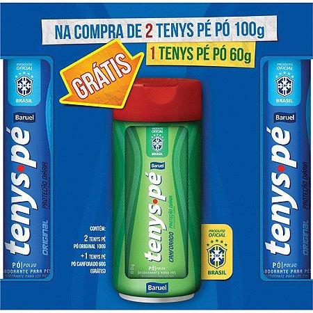 Tenys Pé Baruel 2 Original 100g + 1 Canforado 60g