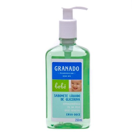 Shampoo Granado 250ml Infantil Erva Doce