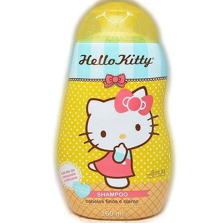 Shampoo Hello Kitty 260ml Cabelos Finos e Clarios