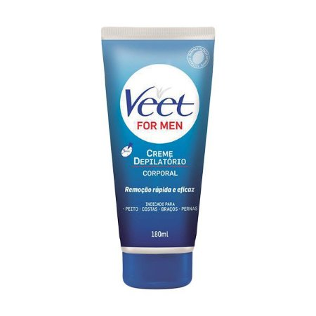 Veet Creme Depilatorio Corporal 180ml For Men