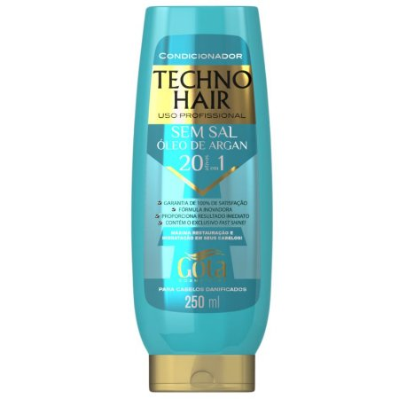 Condicionador Techno Hair Óleo de Argan 250mL