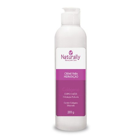 Naturally Creme Hidratante Colageno Corpo/Mãos 200grs