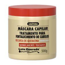 Mascara Capilar Gota Dourada Quimicamente Tratados 500grs