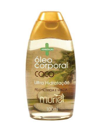 Óleo Desodorante Corporal de Coco 100 ml – Muriel
