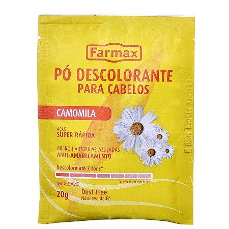 FARMAX PO DESCOLORANTE PARA CABELOS 20G CAMOMILA