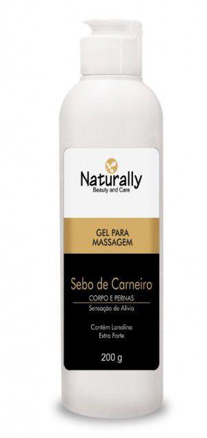 Naturally Creme Ressecameto de Sebo de Carneiro 200g
