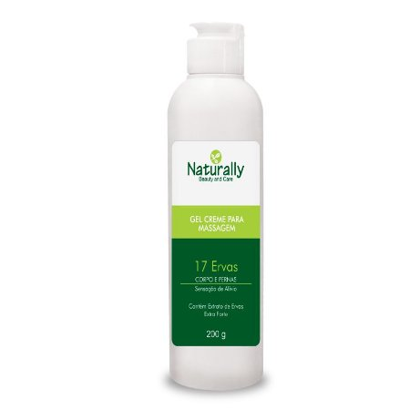 Naturally Gel P/ Massagem Termo Redutor 200g