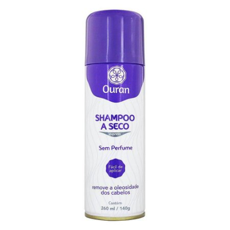 SHAMPOO A SECO OURAN S/PERFUME 260 ML