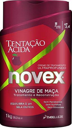 Novex Creme de Tratamento 1kg Vinagre de Maçã