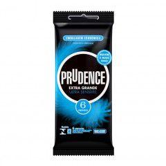 Preservativo Prudence Extra Grande Ultra Sensível 6un