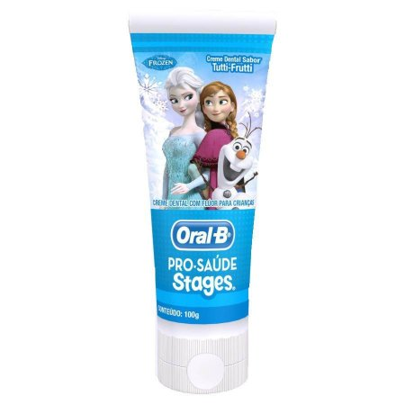Creme Dental Oral B Infantil STAGES FROZEN 100G