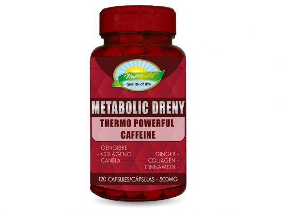 METABOLIC DRENY – POTE 120 CAPSULAS SOFTGEL (500MG) NUTRIGOLD