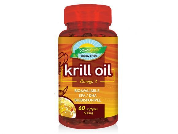 OMEGA 3 - KRILL OIL 500MG 60 CAPS SOFTGEL NUTRIGOLD